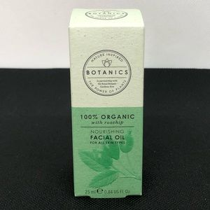 BOTANICS 100% ORGANIC FACIAL OIL With Rosehip